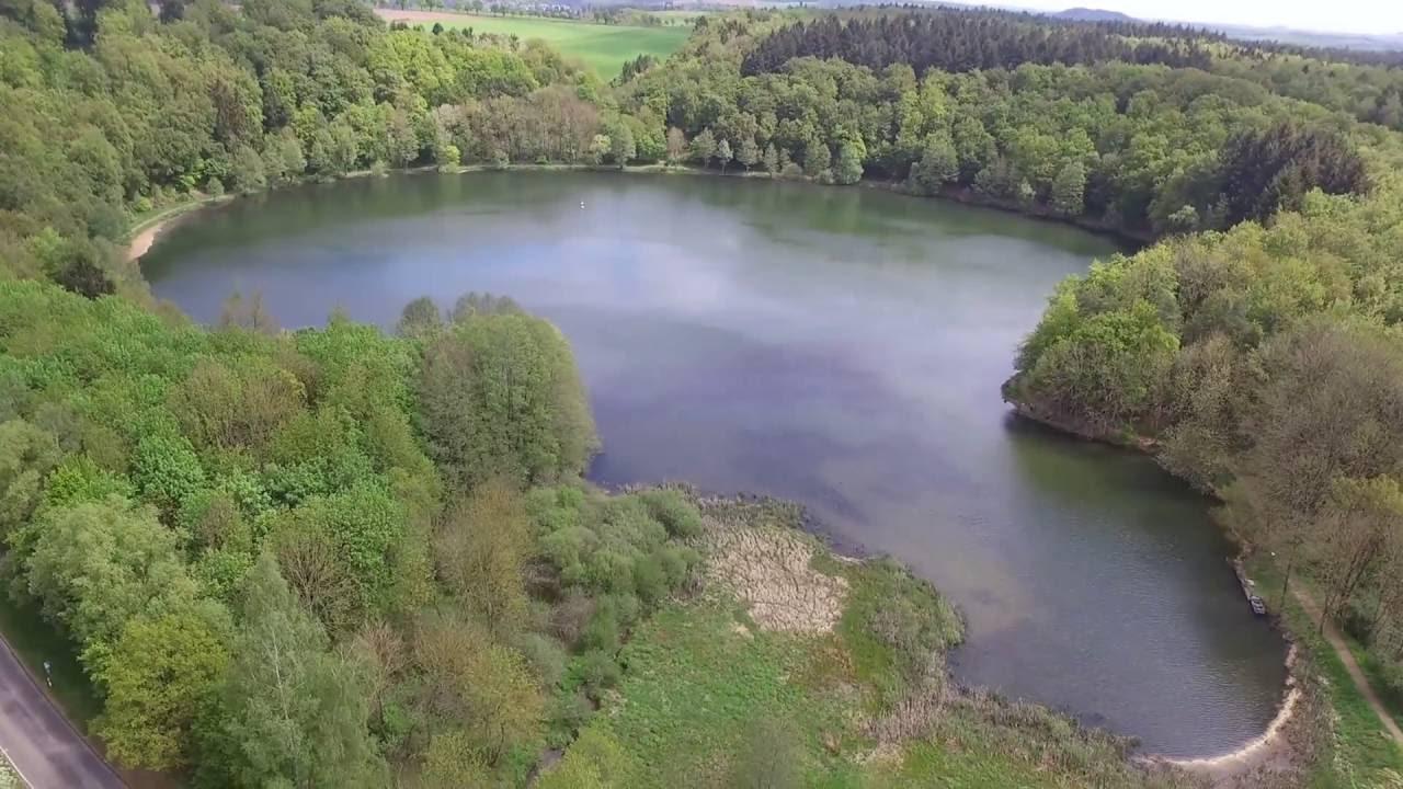 Maare Die Augen Der Eifel Luftaufnahmen Youtube
