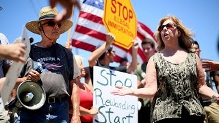 "Radical Anti-Immigration Protesters Show ""Worst of the American Spirit"""