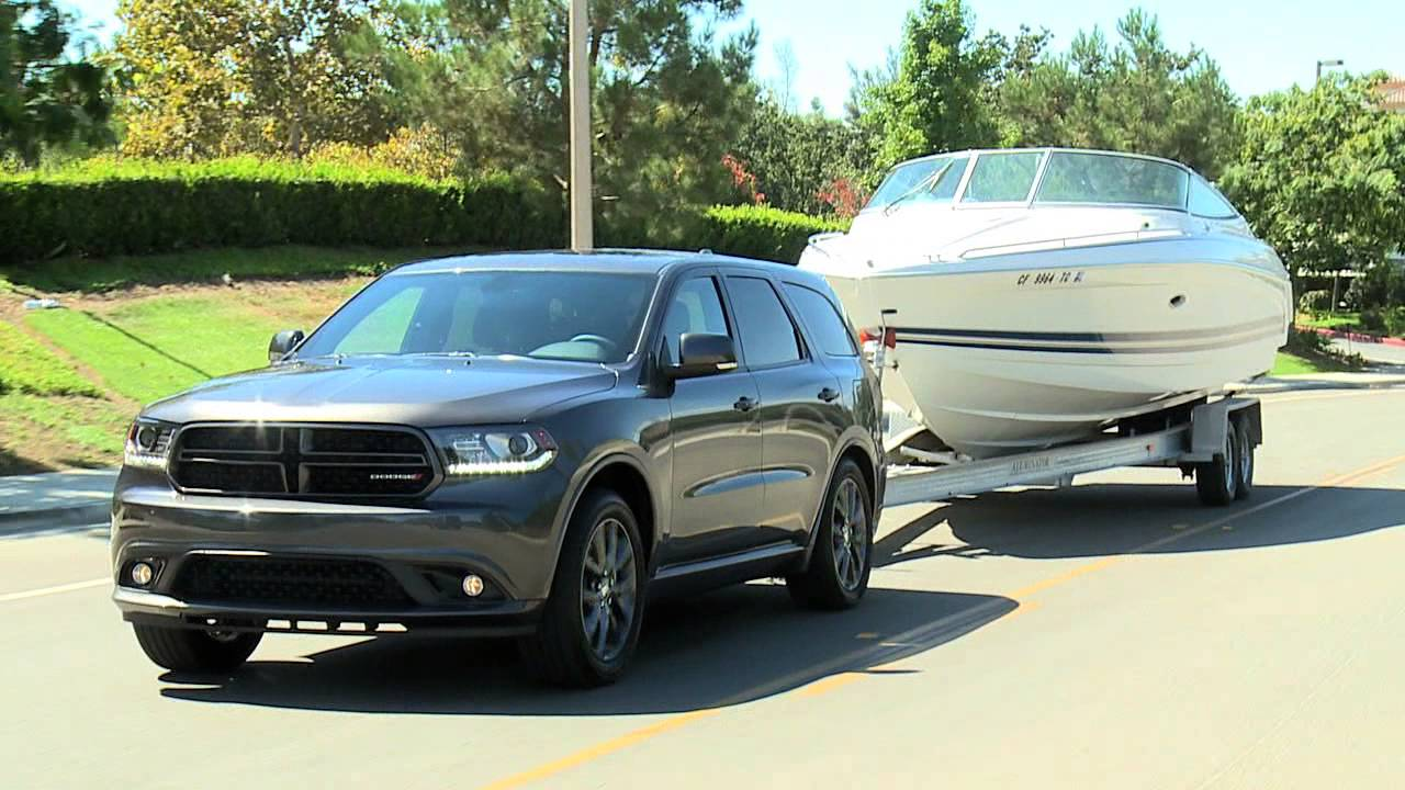 2014 Dodge Durango R T Towing Youtube