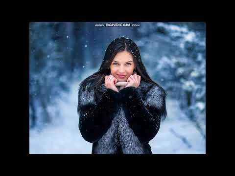 красивые девушки зимой (клип)