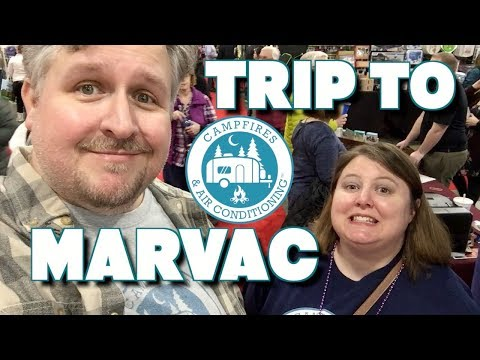 Trip to MARVAC RV Show