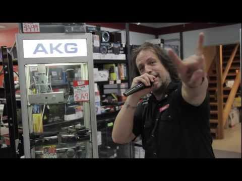 AKG - WMS40 PRO MINI UHF VOCAL WIRELESS SYSTEM