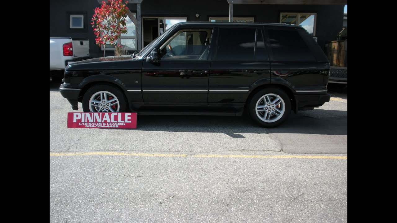 2002 RANGE ROVER HSE csl PINNACLE CAR SALES AND