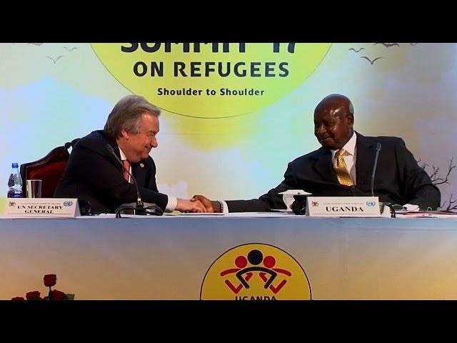 Генсек ООН ставит Уганду всему миру в пример