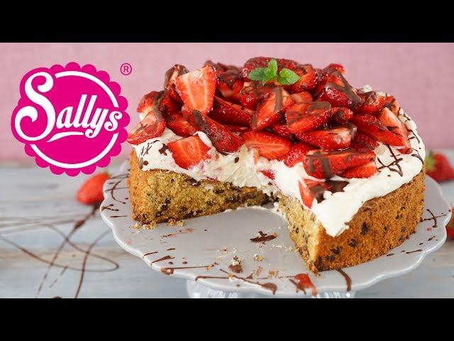 Cookie Torte Mit Erdbeer Topping Einfach Genial