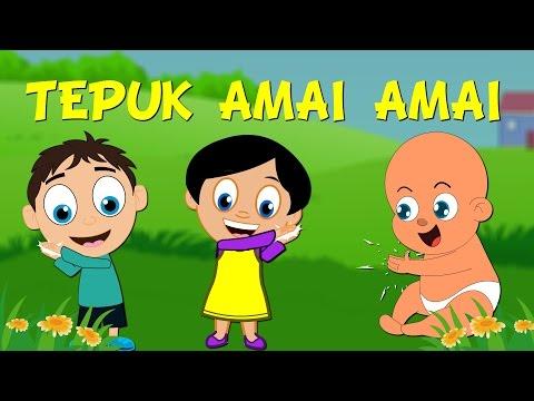 Lagu Kanak Kanak Melayu Malaysia - TEPUK AMAI-AMAI ANIMATED