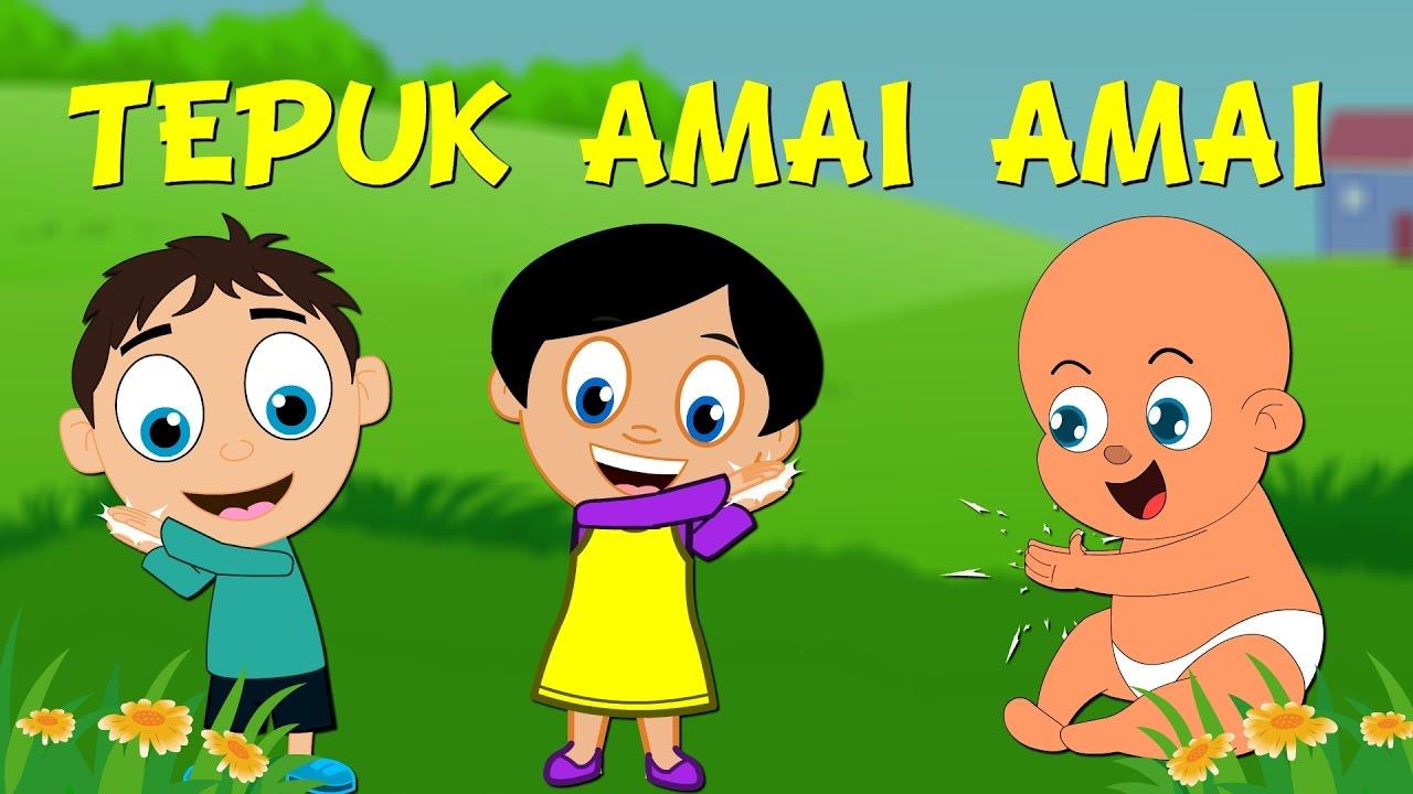 Download Lagu Kanak Kanak Melayu Malaysia - TEPUK AMAI-AMAI ANIMATED