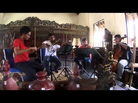 addie ms moonlight waltz (OST biola tak berdawai) - ECIE string quartet (rehershal)