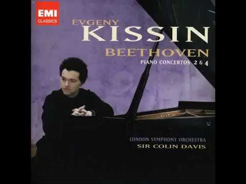 Beethoven, Piano Concerto No. 2 Op. 19 in B flat major. Evgeny Kissin
