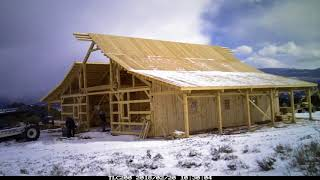 Sand Creek Post & Beam Barn Raising