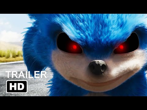 Sonic Exe Sonic The Hedgehog Trailer But It S A Horror Movie Youtube