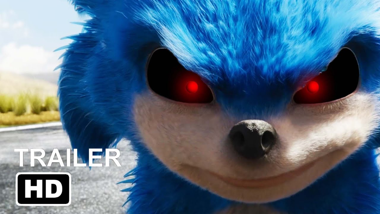 Sonic Exe Sonic The Hedgehog Trailer But It S A Horror Movie