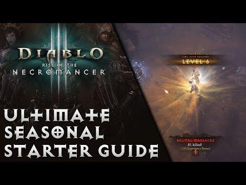 Diablo 3 - Ultimate Seasonal Starter Guide