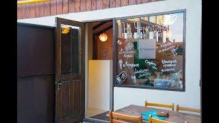 Поселок Штормовое в Крыму отзыв: кафе «На чемоданах»