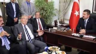 Deniz Baykal Merzifon Belediye Başkanı Alp Kargı'yı Ziyaret etti. -