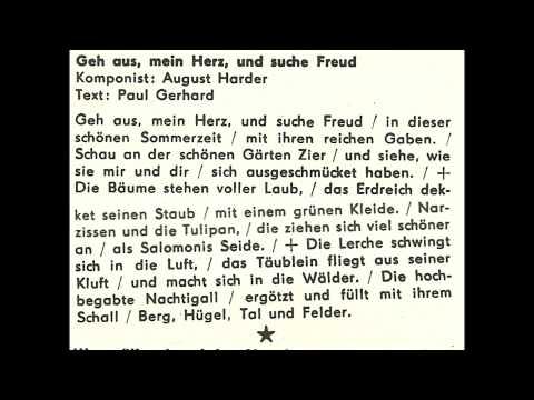 Jugendchor Berlin - Geh aus, mein Herz, und suche Freud