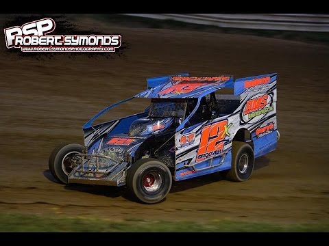 Dillon Groover Woodhull Raceway 6/25/16 Go Pro