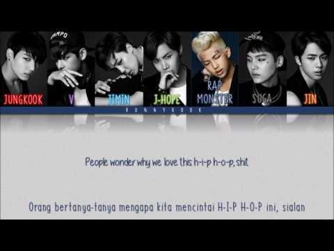 BTS (방탄소년단) - 힙합성애자 (HIP HOP LOVER) [Han/Rom/Indosub]