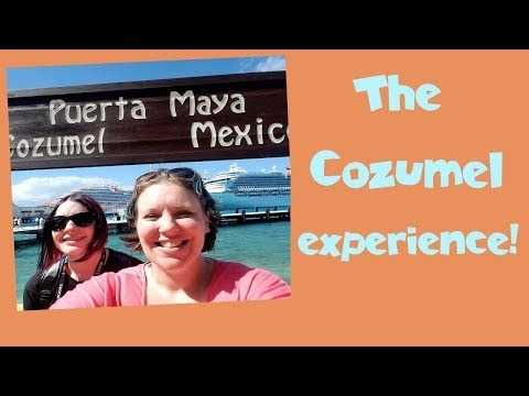 Where To Go? What To Do? 🌴 Cozumel Mexico Tourists for a Day | Crown Princess Cruise Vlog [ep16]