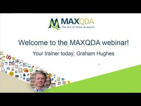 Qualitative Data Analysis with MAXQDA (Intro Webinar)