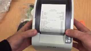 видео Чековый принтер FPrint-02 для ЕНВД