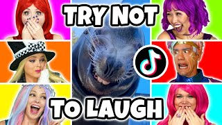 SUPER POPS TRY NOT TO LAUGH TIK TOK CHALLENGE. Totally TV Originals