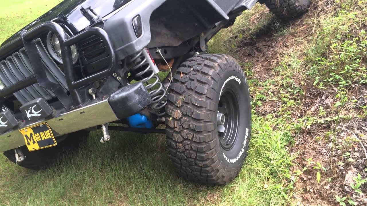 6 Inch Lift Jeep Wrangler >> 1997 jeep tj 6 inch rough country long arm lift - YouTube