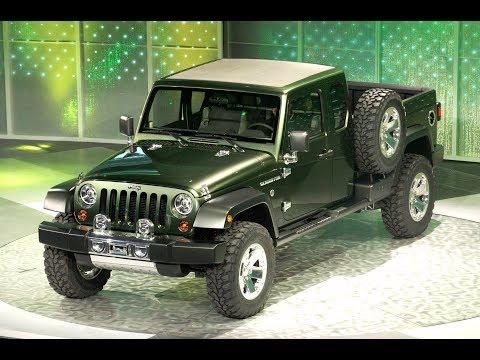 2019 Jeep Wrangler Pickup Called 'Gladiator'