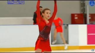 Дарья Усачёва 3 й этап Кубка России 02 11 2019 Произвольная программа