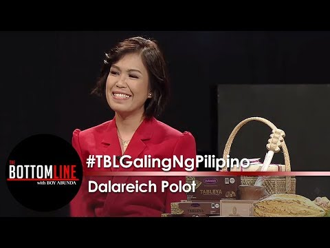 Dalareich Polot presents her award winning Tableya made from local cacao beans | The Bottomline