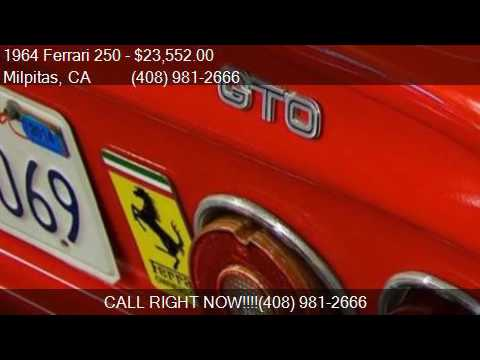 1964 Ferrari 250  for sale in Milpitas, CA 95035 at NBS Auto