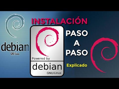 Instalar Debian Linux/GNU paso a paso explicado