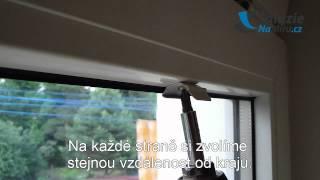 Vyměření a montáž plissé žaluzie - ŽaluzieNaMíru.cz