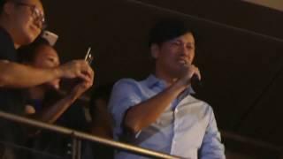 Jay Chou 2017 周杰倫地表最強巡演-台北站9/30 李聖傑包廂飆唱《安靜》