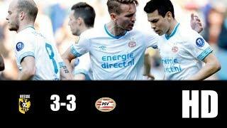 Vitesse vs PSV 3-3   RESUMEN GOLES   LIGA HOLANDESA   2019