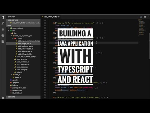 Building a Java application with TypeScript and React pt10 thumbnail