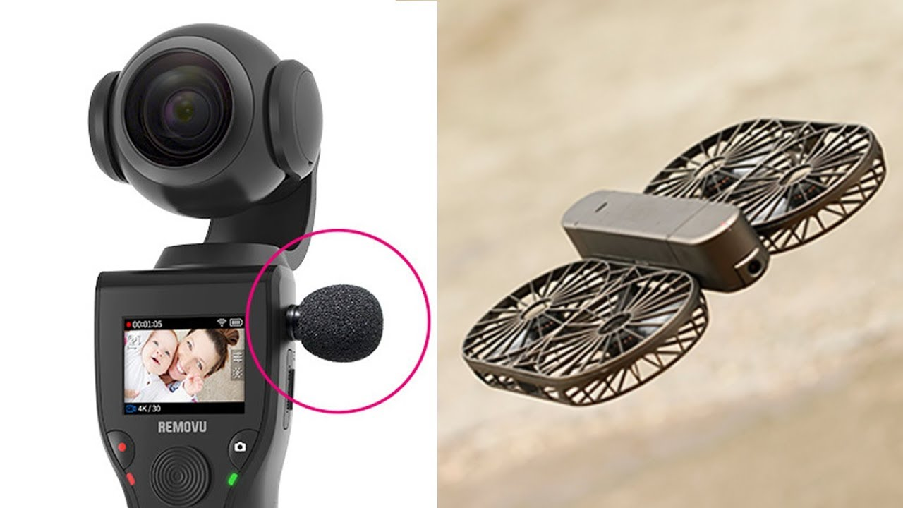 5 Cool Gadgets You Can Buy - Moment Drone, Self Stabilizing 4k Camera, sightsaver, removu k1, Piano