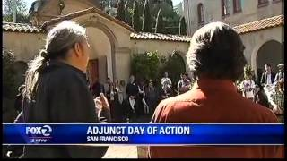Students, Adjunct Faculty Walk Out at San Francisco Art Institute for #NAWD