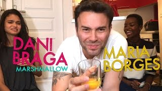 Desafio do Marshmallow feat Daniela Braga e Maria Borges | #HotelMazzafera