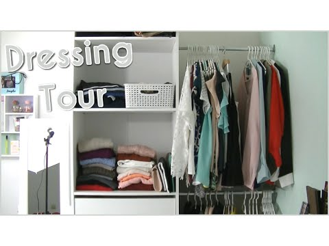 mon dressing astuces de rangements youtube. Black Bedroom Furniture Sets. Home Design Ideas