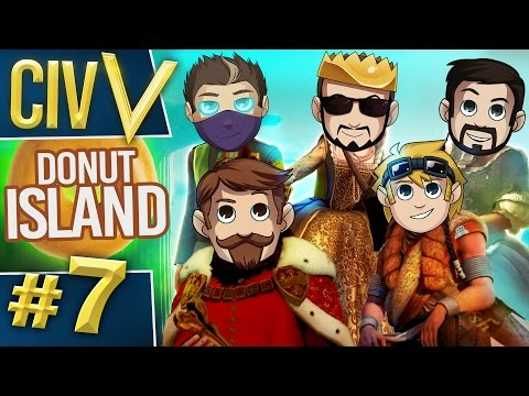 Civ V: Donut Island #7 Strip Poker