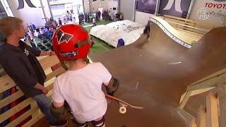 Австралия: юные сёрферы учатся на рампе для скейта (новости)