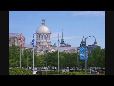 Exploring Vieux-Montreal - Montreal, Quebec