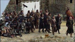 Съемки - Встреча в Драконьей яме - 7x07 Игра престолов. СУБТИТРЫ