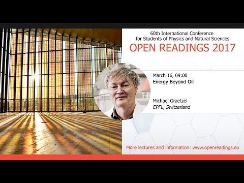 Energy Beyond Oil, Michael Graetzel