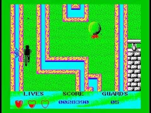 Beverly Hills Cop Walkthrough, ZX Spectrum