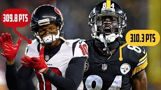 Do You Want DeAndre Hopkins Or Antonio Brown On Your Fantasy Team?