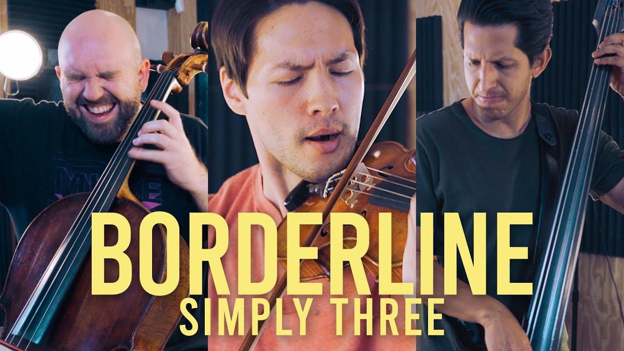Borderline - Tame Impala (violin/cello/bass cover) - Simply Three | STUDIO SESSIONS