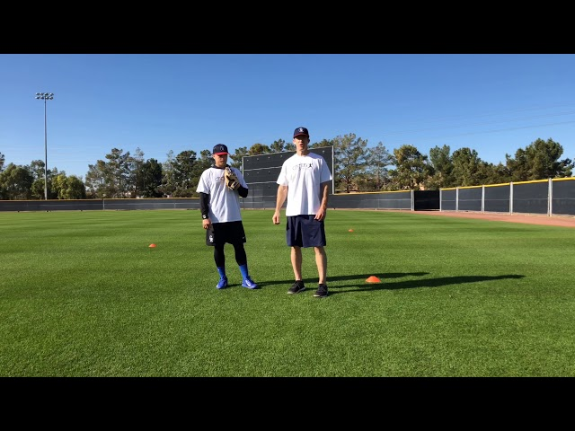 Outfield Ground Ball Angle Drill