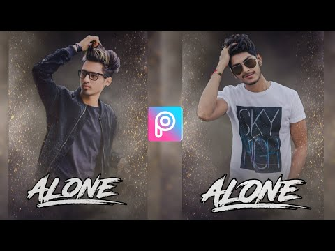 PicsArt Alone Boy Movie Poster Effect | PicsArt Editing Tutorial | PicsArt Editing New Style